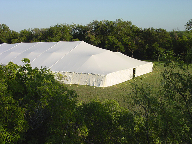 80' Wide Pole Tents