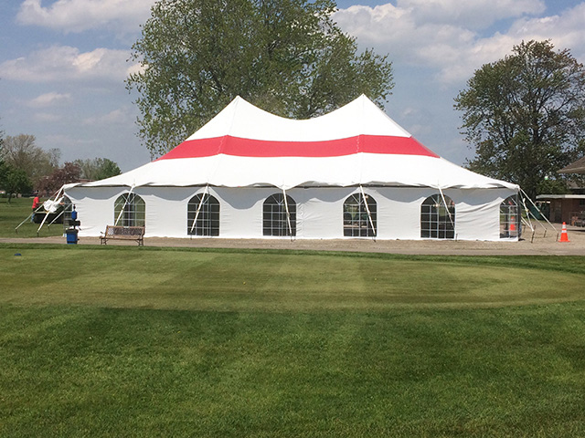 High Peak party tent slideshow