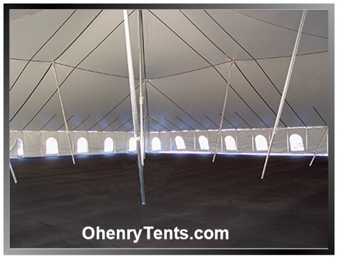 party tent center pole fitting